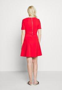 HUGO - NAREI - Jersey dress - red - 2