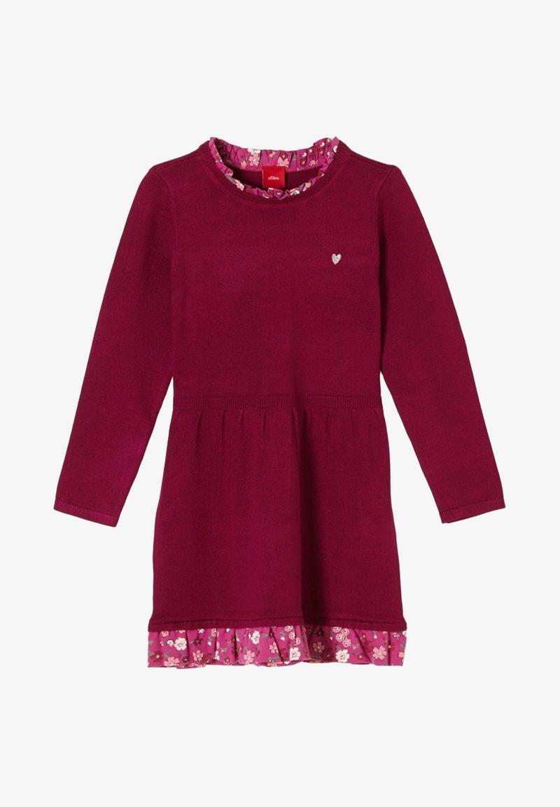s.Oliver - Jumper dress - dark pink