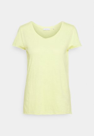 SLUB - Basic T-shirt - lemonade