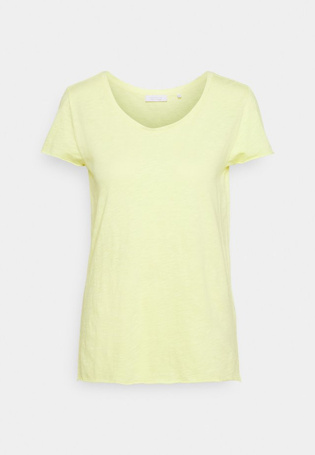 SLUB - T-shirt basic - lemonade