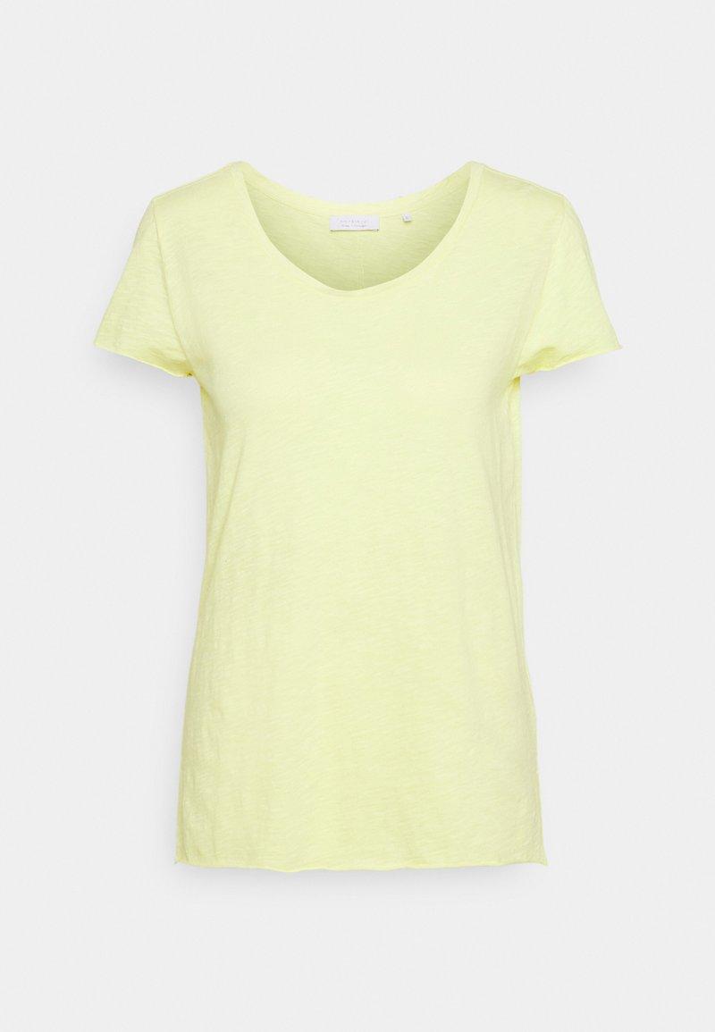 Rich & Royal - SLUB - Basic T-shirt - lemonade