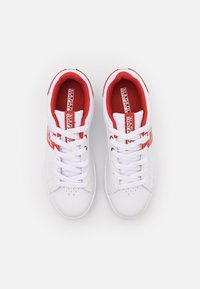 Napapijri - WILLOW - Baskets basses - white/red/multicolor - 5