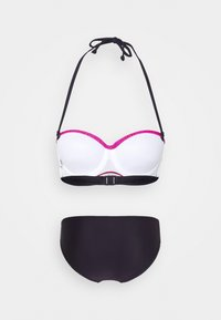 LASCANA - WIRE BANDEAU SET - Bikini - red - 1