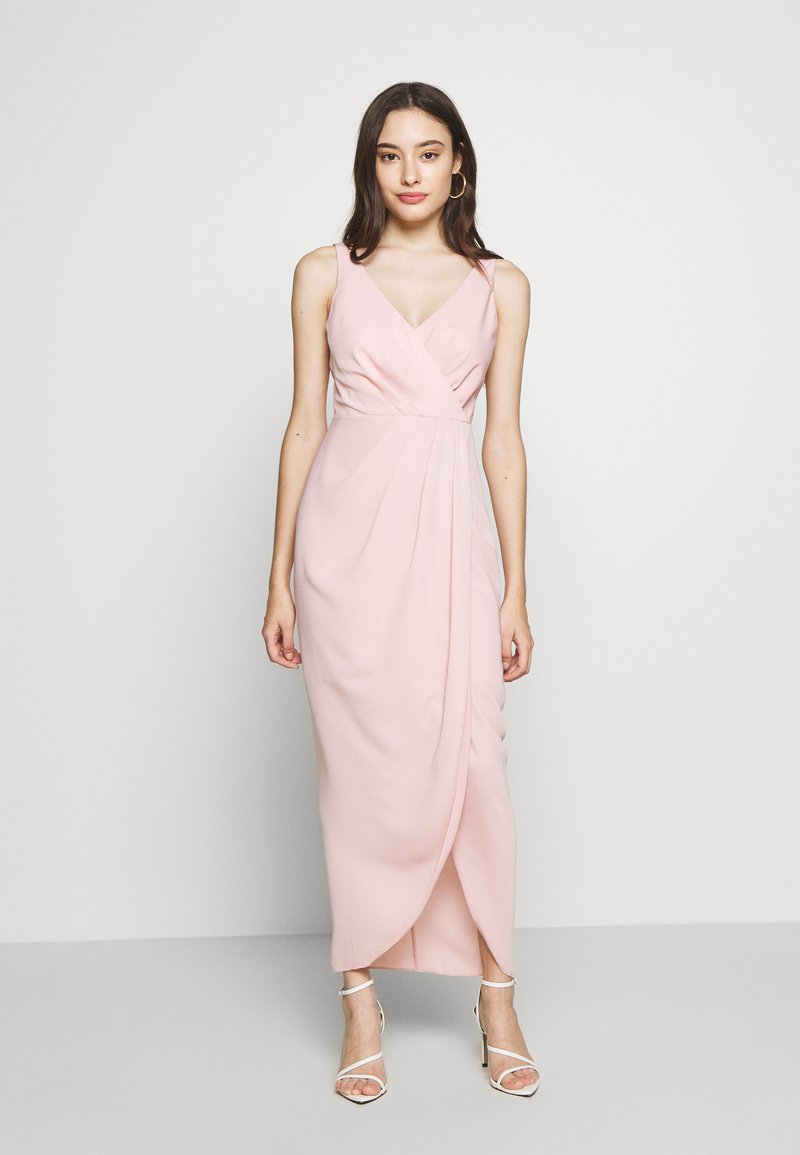 Forever New Petite - VICTORIA WRAP DRESS PETITE - Suknia balowa - blush