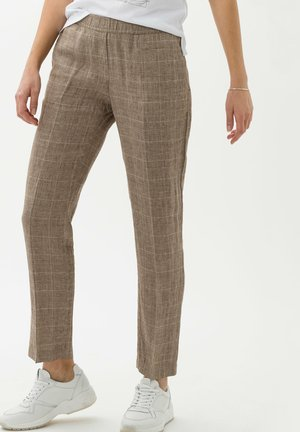 Pantalon classique - brown sugar