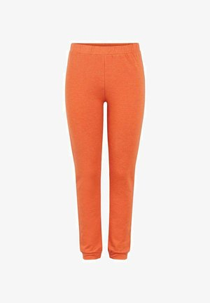 PCRELAX  - Tracksuit bottoms - burnt ochre