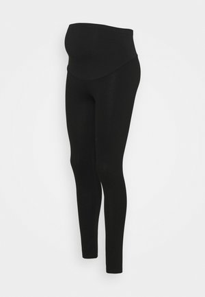 PONTE OVERBUMP - Leggings - black