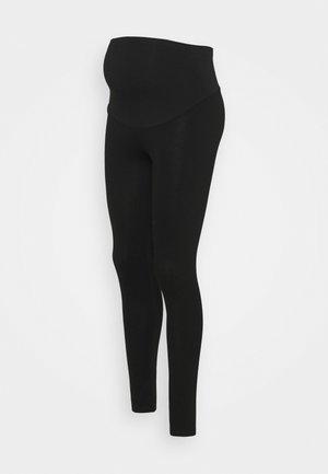 PONTE OVERBUMP - Leggings - Trousers - black