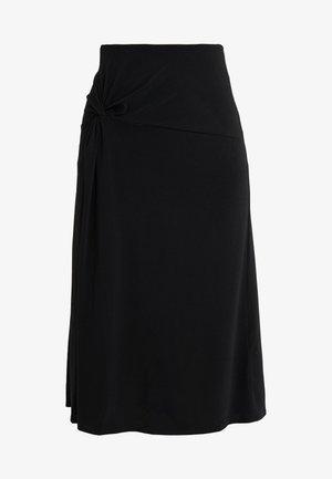 CINTIA - A-line skirt - black