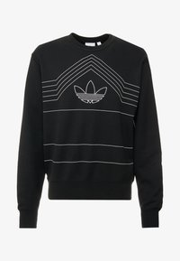 adidas Originals - RIVALRY CREW - Sweater - black/white - 5