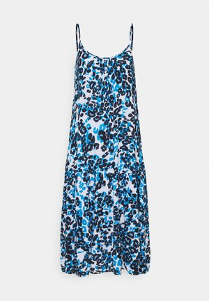 SLIP DRESS - Day dress - blue