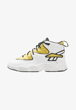 AVANT GUARD TRANSITION BRIDGE SHOES - Korkeavartiset tennarit - white/gold metallic/black
