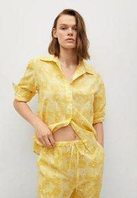 Mango - Trousers - amarillo - 4