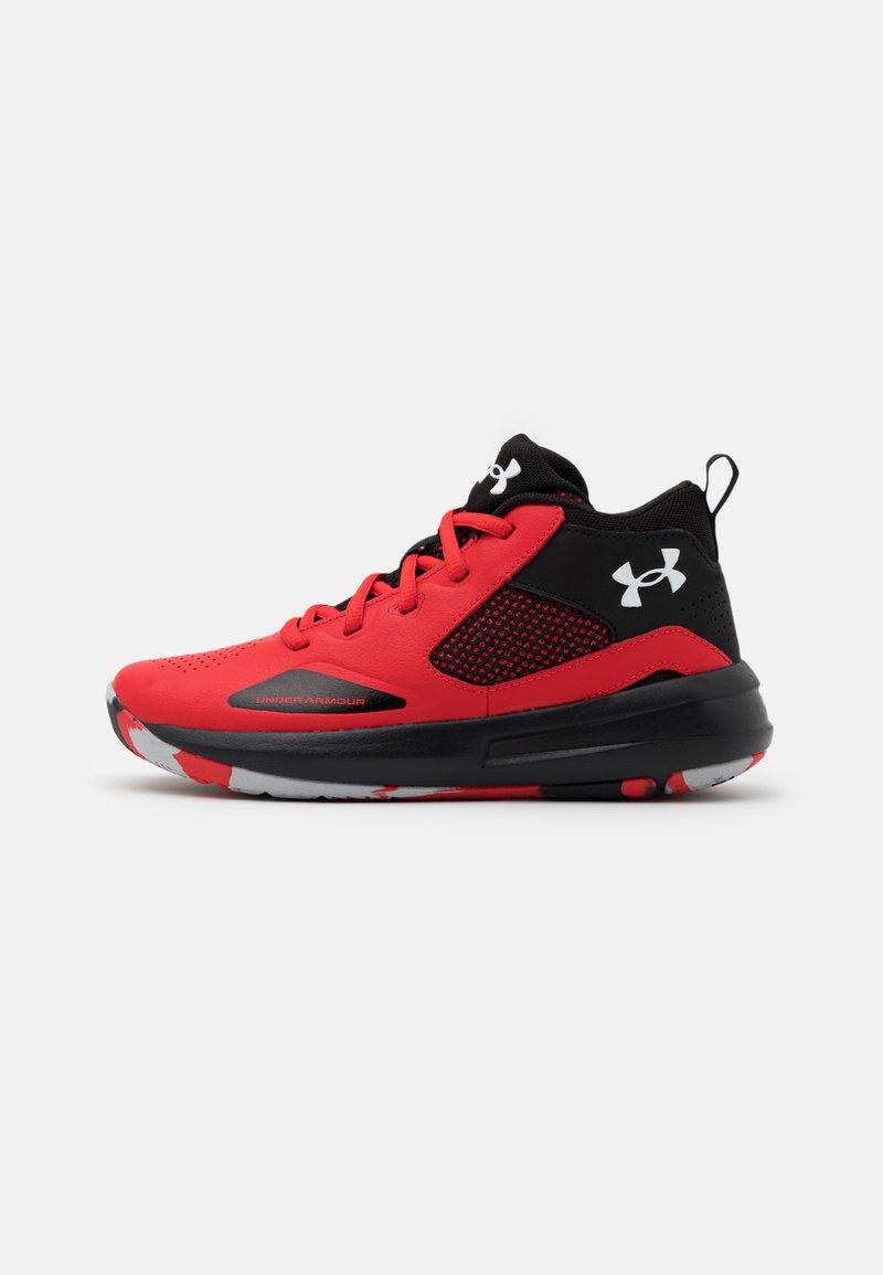 Under Armour - LOCKDOWN 5 UNISEX - Zapatillas de baloncesto - versa red