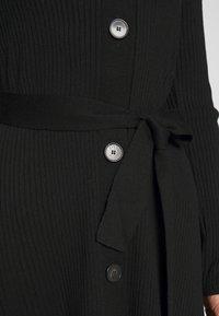 IVY & OAK - Pletené šaty - black - 4