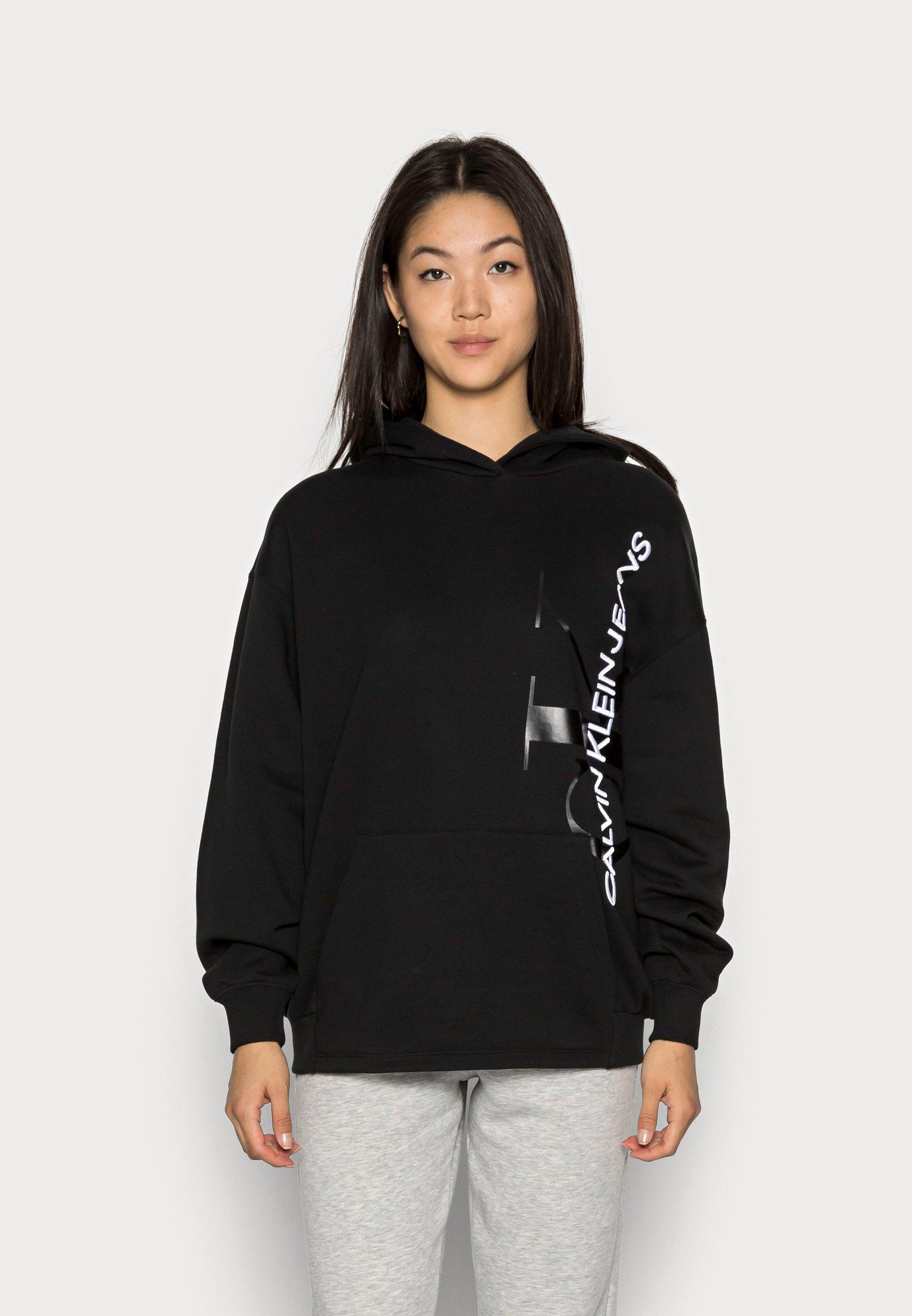 Women VERTICAL MONOGRAM HOODIE - Sweatshirt