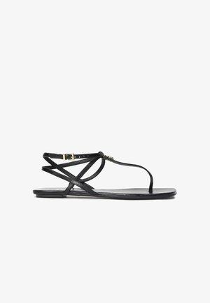 GOLDA - T-bar sandals - black