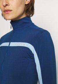 J.LINDEBERG - SEASONAL JANICE MID LAYER - Zip-up hoodie - midnight blue - 4