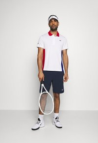 Lacoste Sport - TENINS  - Funkční triko - white/red/cosmic black - 1