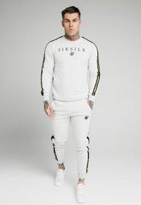 SIKSILK - PRESTIGE CREW - Sweatshirts - grey marl - 0