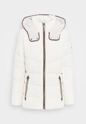 Down jacket - moda cream