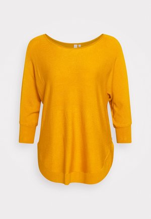 Strickpullover - golden yellow