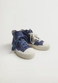 Mango - DALLASB - High-top trainers - blau - 4