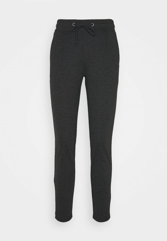 KATE - Trousers - dark grey melange