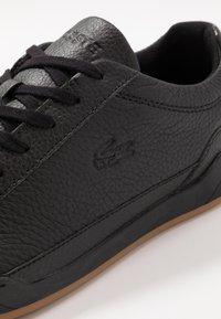 Lacoste - CHALLENGE - Sneakersy niskie - black - 5