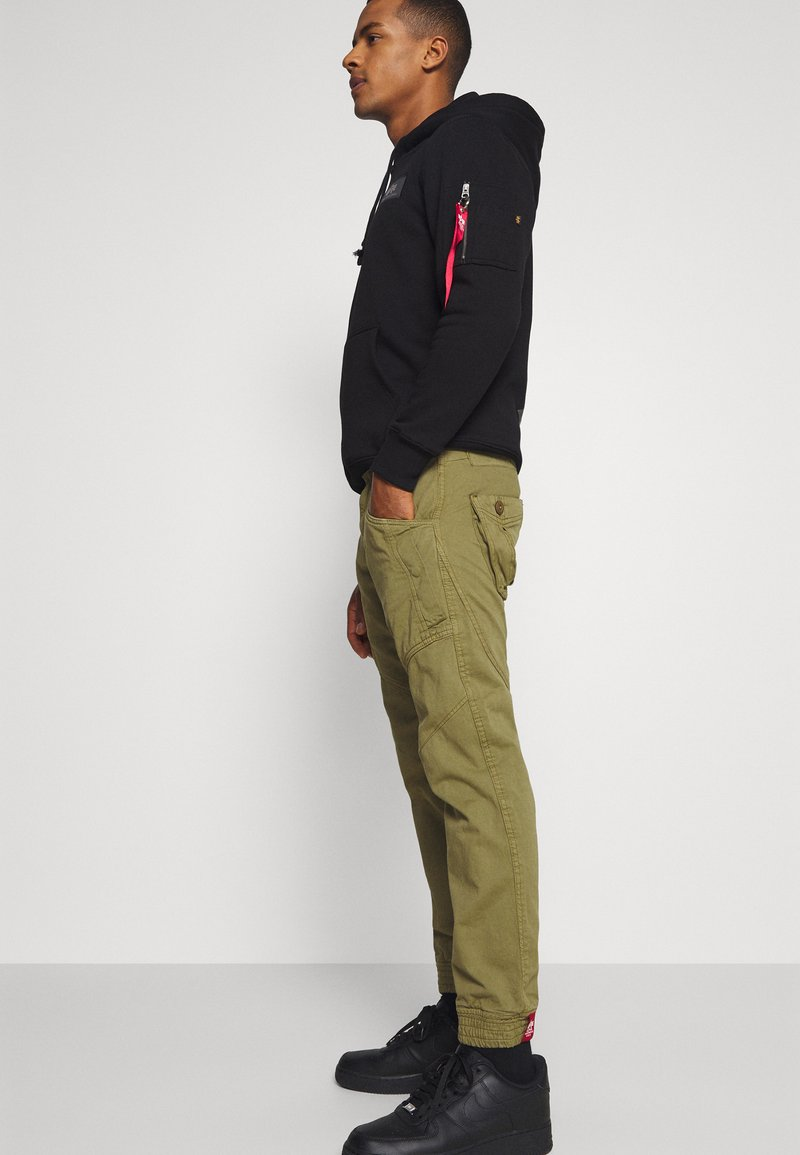 Alpha Industries - MAJOR PANT - Cargo trousers - olive