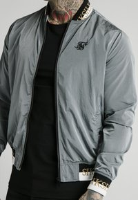 SIKSILK - CRUSHED DELUXE COLLECTION - Bomber bunda - grey - 4