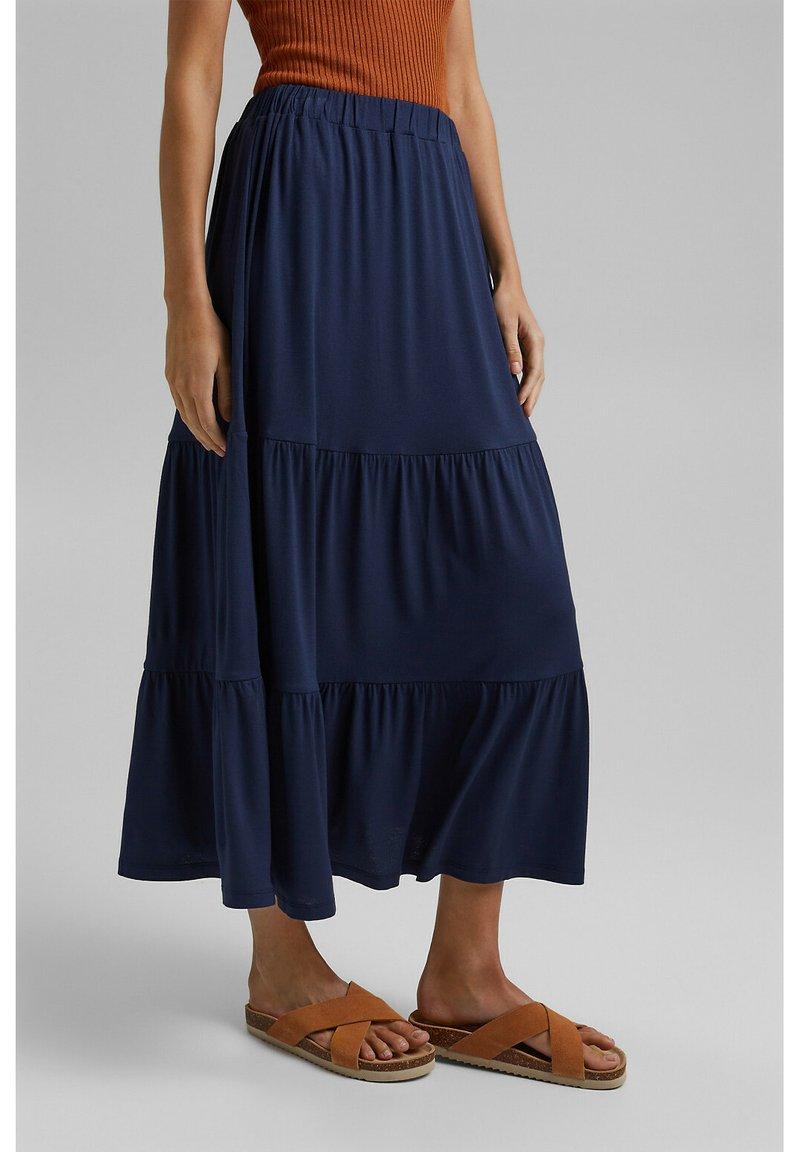 Esprit - A-line skirt - navy