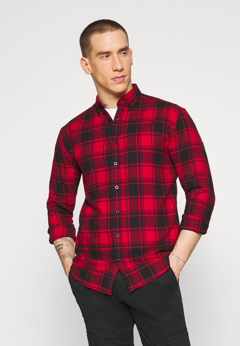 Denim Project - CHECK - Shirt - red