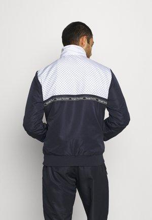 NIHIL TRACK JACKET - Training jacket - navy/white