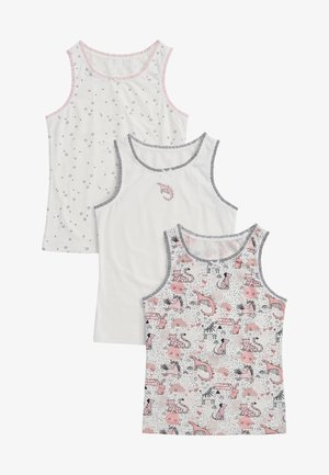 3 PACK CHARACTER PRINT VESTS - Top - pink
