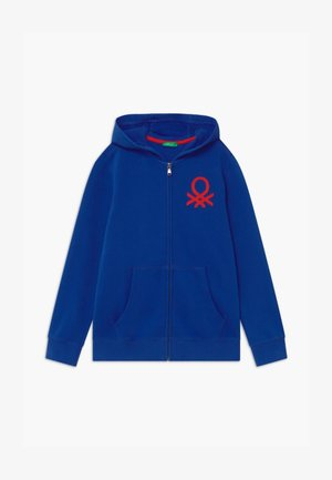BASIC BOY  - Zip-up hoodie - blue