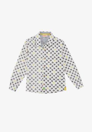 WITH PRINTED CAMER - Overhemd - crudo