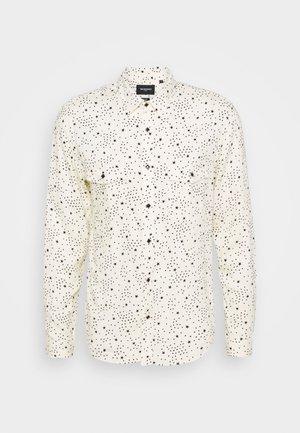 CHEMISE - Overhemd - ecru black