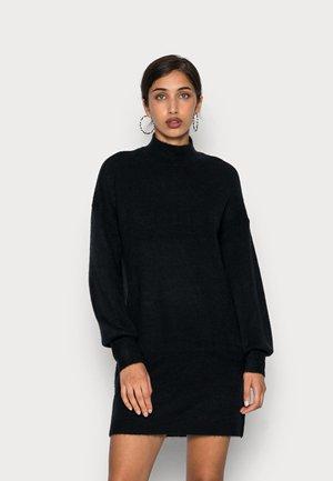 VMLEFILE HIGHNECK DRESS - Jumper dress - black