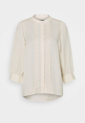 SLFMARIANNA 3/4 - Button-down blouse - sandshell
