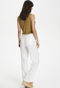 Part Two - BEGITTAPW - Trousers - bright white - 3