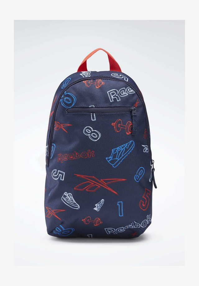 ALLOVER PRINT BACKPACK SMALL - Rucksack - blue