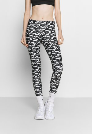 MODERN SPORTS - Leggings - black/white