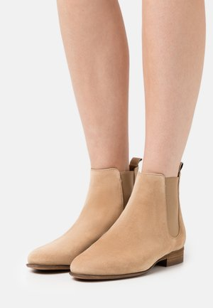 Ankle boots - gold
