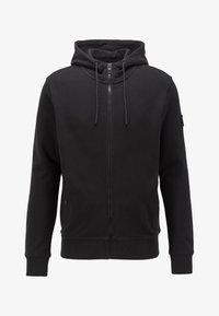 BOSS - ZOUNDS  - veste en sweat zippée - black - 4