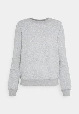 ONLJOYCE O-NECK  - Sweatshirt - light grey melange