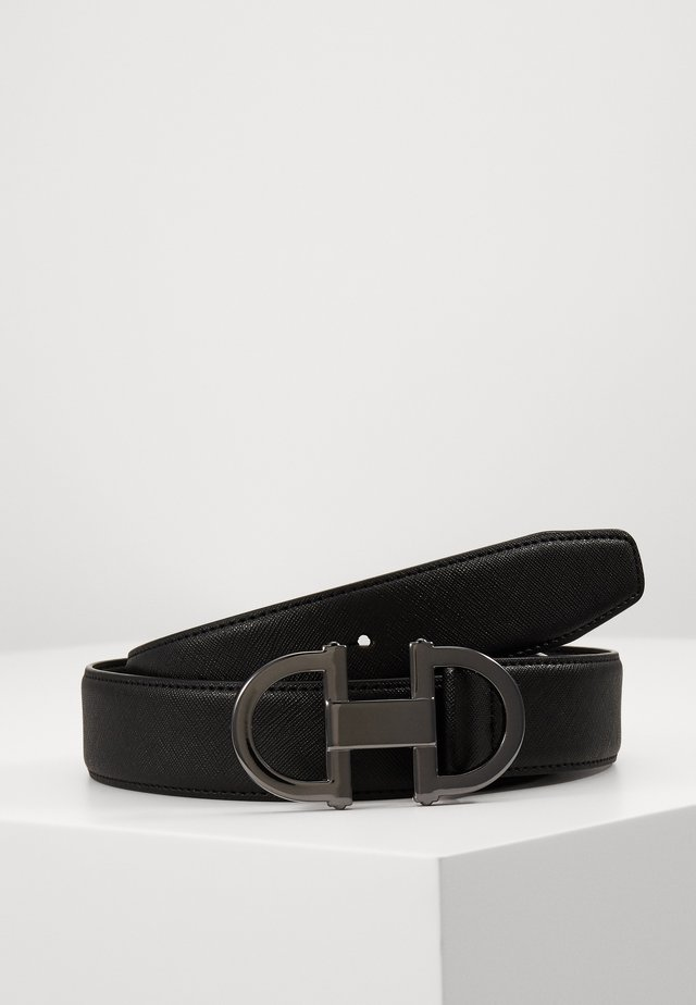 GORLENKO - Belt - black/gunmetal