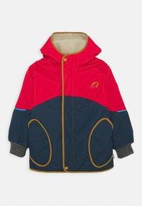 Finkid - NALLE MUKKA UNISEX - Hardshell jacket - navy/cinnamon - 0