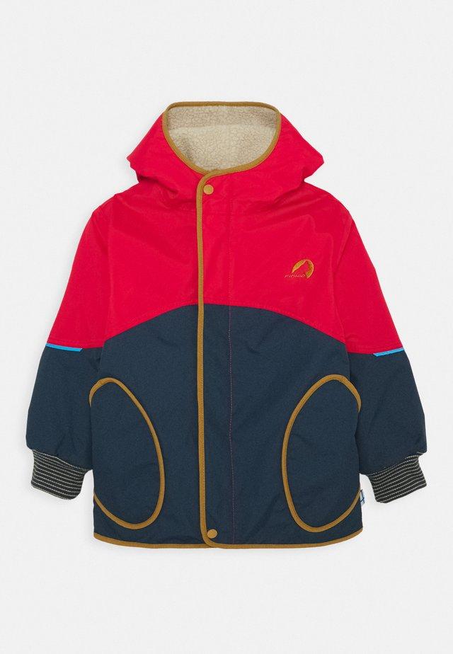 NALLE MUKKA UNISEX - Hardshell jacket - navy/cinnamon