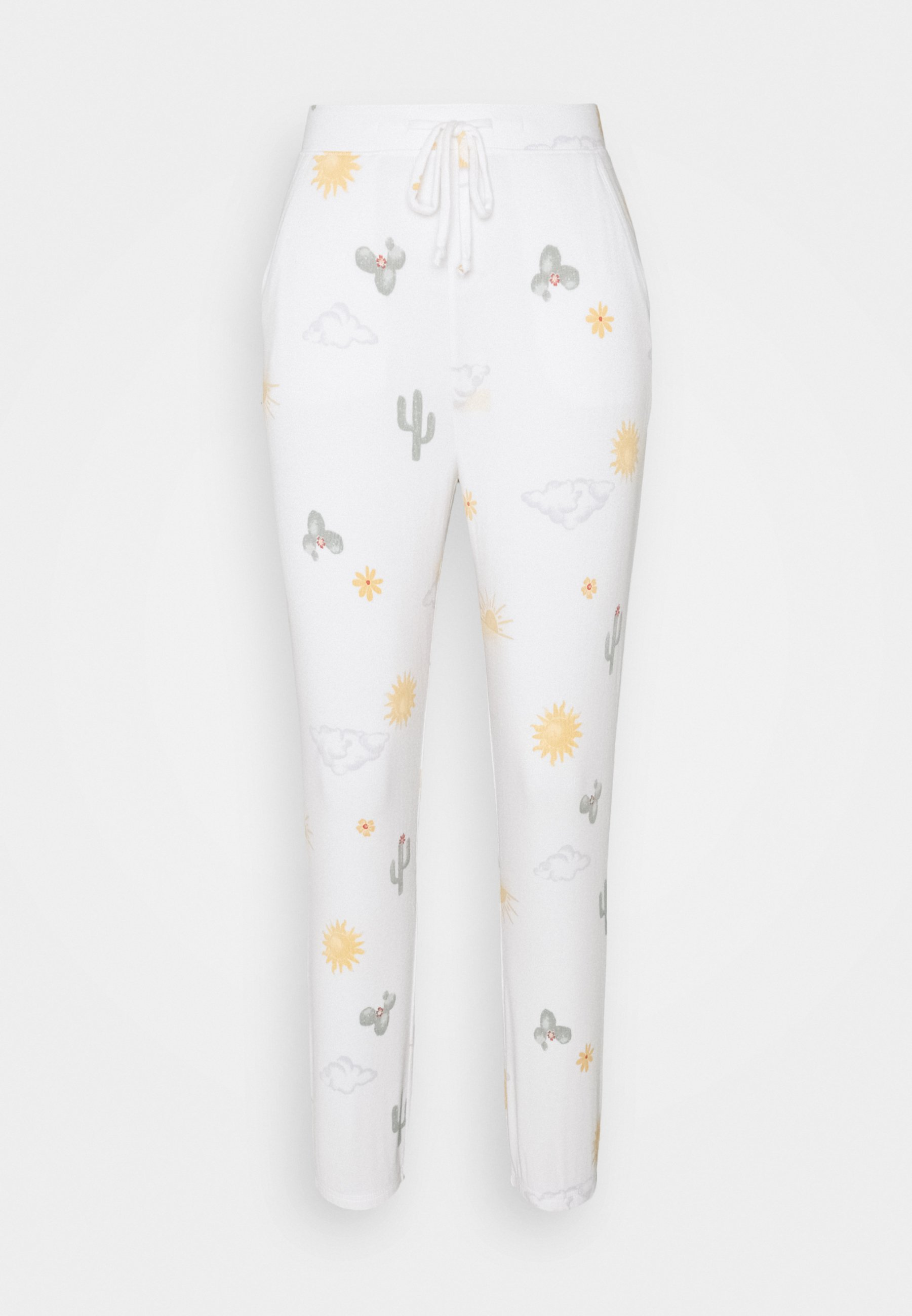 Women PRINTED COZY JOGGER - Pyjama bottoms